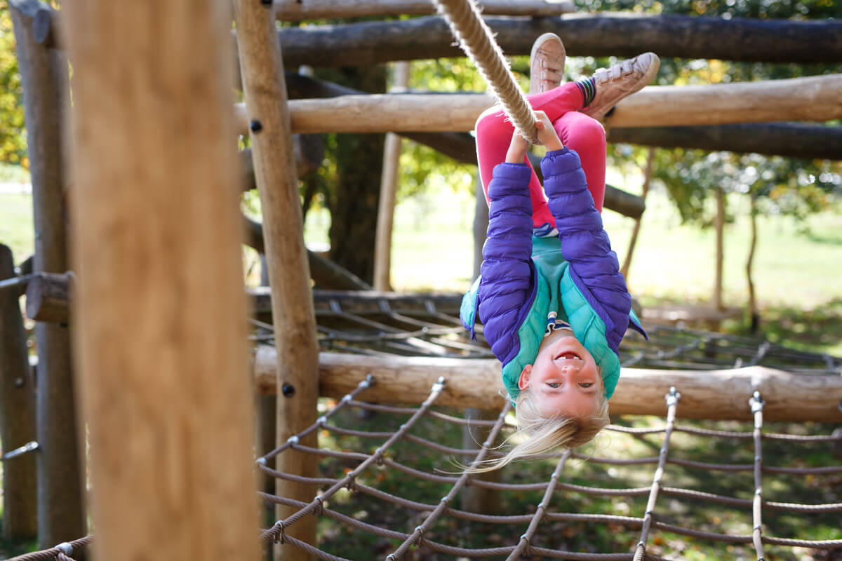 Come and hang around in a great family day out in Oxfordat Tumblestone Hollow Stonor Park